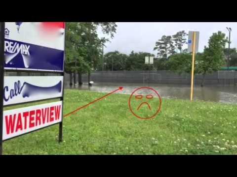 Houston area flooding April 2016