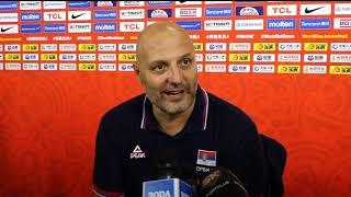 Aleksandar Đorđević posle pobede nad Italijom u 3. kolu Svetskog prvenstva   SPORT KLUB KOŠARKA