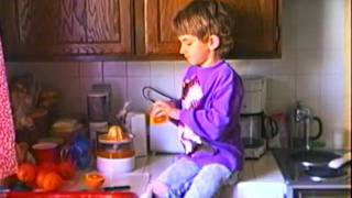 Robert Hawkins Makes Orange Juice in 1993 Thumbnail