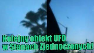 Świetliste UFO zostało zaobserwowane w Kalifornii