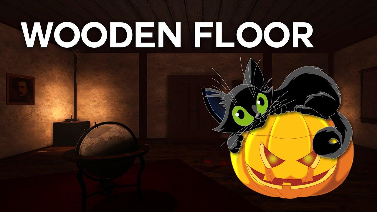 wooden floor | pisica este fugarita in castel | halloween special