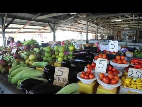 Suriname New Nickerie Marché / Suriname New Nickerie Municipal market
