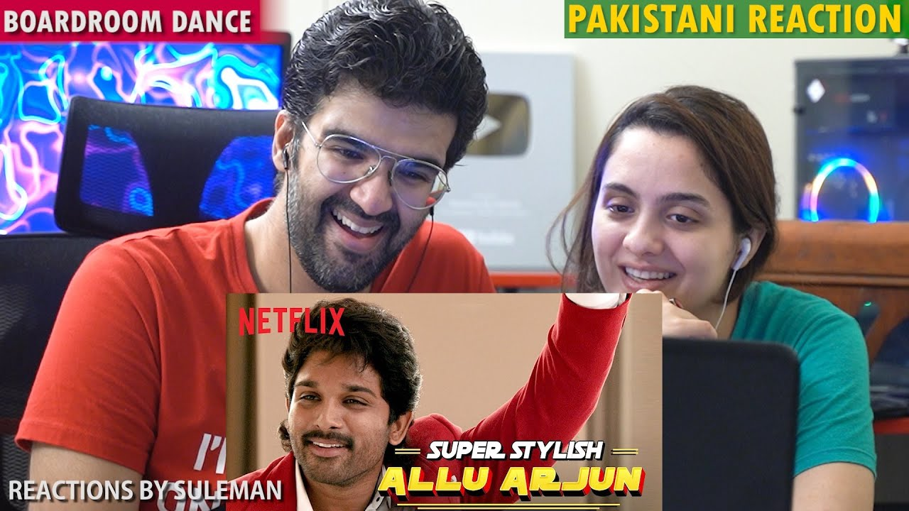 Pakistani Couple Reacts To Allu Arjun Boardroom Dance Scene | Ala Vaikunthapurramuloo