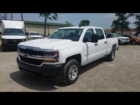 2017 Chevy Silverado 1500 Crew Cab Work Truck Summit White Full Review