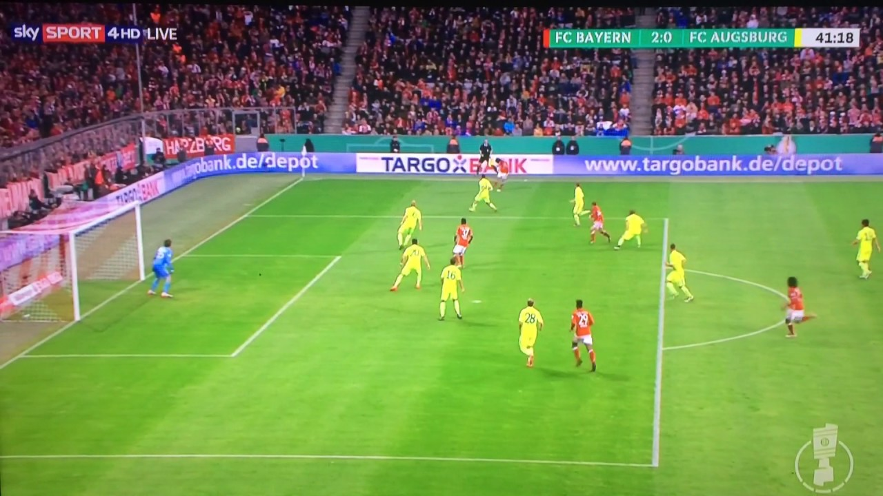 Bayern Augsburg Tore