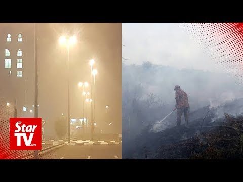 Miri chokes under haze caused by wildfires