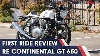 Royal Enfield Continental GT 650 First Ride Review | NDTV carandbike