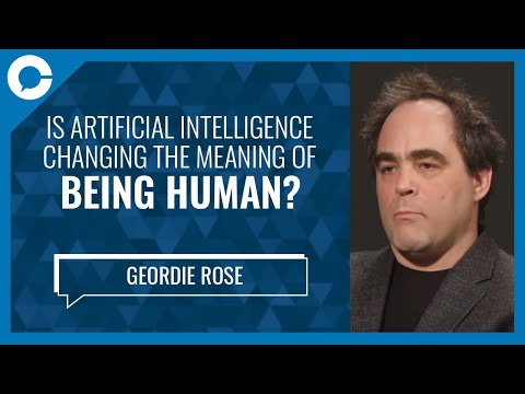 Can AI change the meaning of being human? (w/ Geordie Rose, Sanctuary AI)