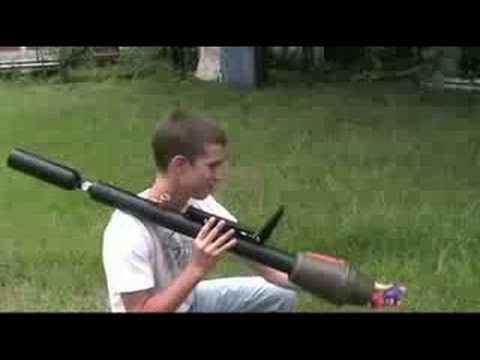 War Machine Paintball Nerf Rocket Launcher - YouTubeRpg Paintball Gun