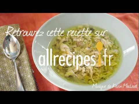 soupe-de-poulet-aux-poireaux