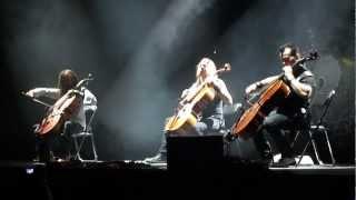 Apocalyptica - Nothing Else Matters [Monterrey Enero.2012]