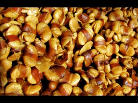 How To Roast Broad Beans To Turn Them To Nuts  - Steven Heap
