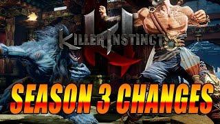 SEASON 3 CHANGES Part 1 - KI Season 3 Classic Characters