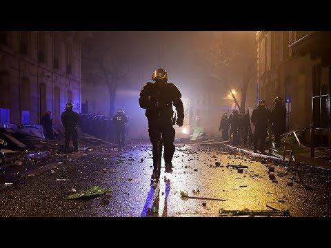 Champs-Élysées: Version 2018 [JoeDassin/Avenue/Song/Gelbwesten/Paris/Frankreich/Bürgerkrieg/Protest]