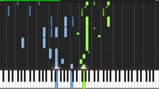 Blood Teller - Mirai Nikki (Ending 1) [Piano Tutorial] (Synthesia) // TheIshter