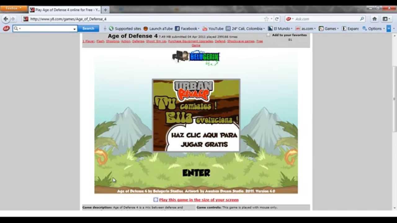 Como Descargar Juegos Online Para Jugar Sin Internet Youtube
