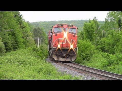 CN 2247 leads 306 East on the Pelletier & Napadogan Sub 6/23/18