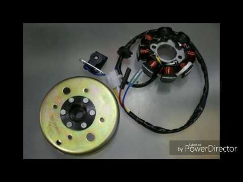 Проверка высоковольтной катушки генератора скутера