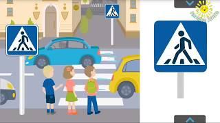 Светофор и правила дорожного движения для детей   Дорожные знаки  Развивающий мультик для детей