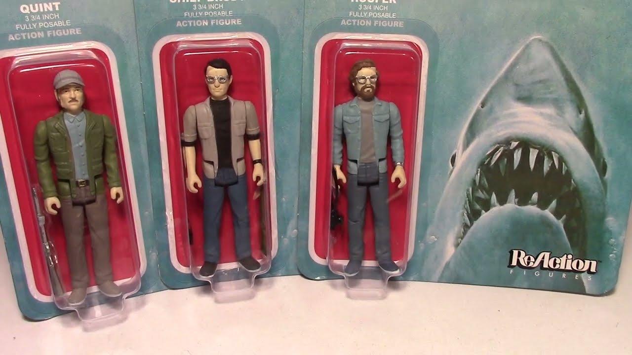 "Funko Jaws Great White ReAction Oversized 10/"" Retro Action Figure"