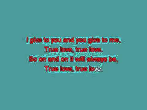 True Love   Bing Crosby [karaoke]
