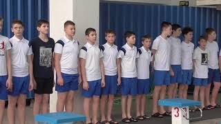Награждение 2 место 2 группа младшие юноши 2004-2005 г.р.