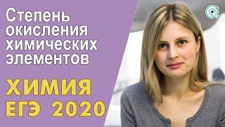 ЕГЭ ХИМИЯ 2019   Степень окисления химических элементов