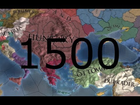 Eu4: Tribute to my favourite nation - Hungary