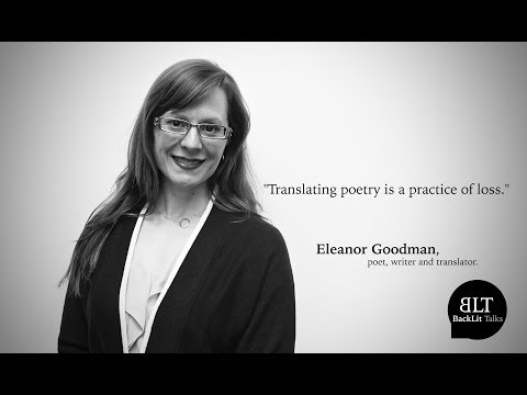 BackLit Interview with Eleanor Goodman