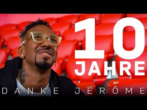 Thank you, Jérôme! 10 years at FC Bayern