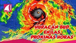 Esta será la ruta del huracán Bud en las próximas horas