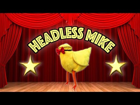 HEADLESS MIKE (Mike The Headless Chicken / Miracle Mike) Radioactive Chicken Heads Music Video