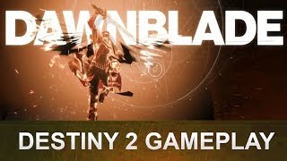 DESTINY 2 Dämmerklinge Gameplay Deutsch / German