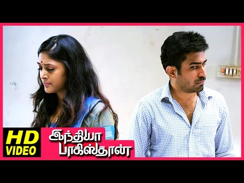 India Pakistan Tamil Movie | Scenes | Vijay Antony & Sushma Raj Came To Know About Their Profession