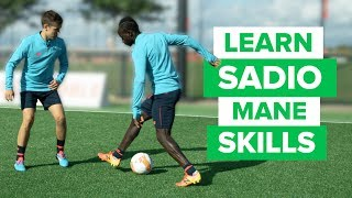 SADIO MANE TEACHES HIS FAVORITE SKILLS  | play like a pro