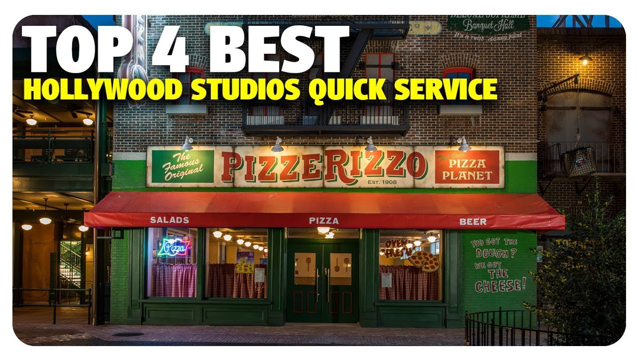 Top 4 Best Quick Service Dining At Disneys Hollywood Studios Best