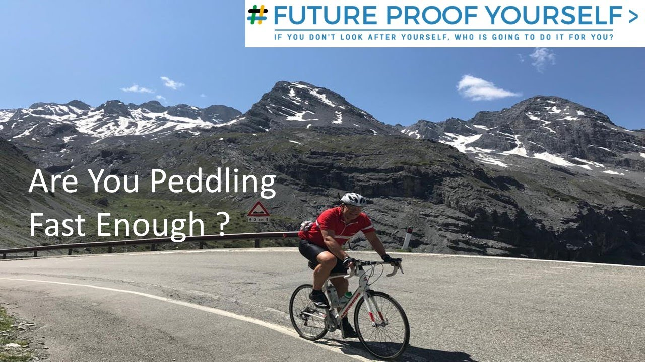 Are You Peddling Fast Enough?