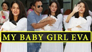 Hate Story Fame Actress Surveen Chawla Blessed With a Cute Baby Girl