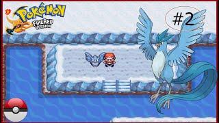 Como capturar articuno no pokemon fire red #2 (com pokebola)
