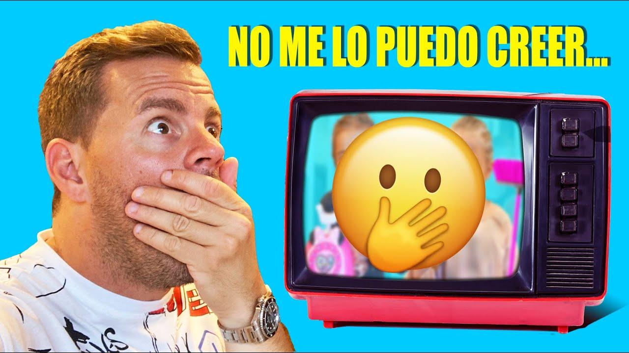 SALE ESTO POR LA TV DE MIS HIJAS... Itarte Vlogs