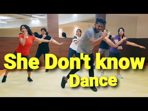 She Don't Know: Millind Gaba Song | New Hindi Song 2019 | Zumba Dance Fitness Choreography By Amit