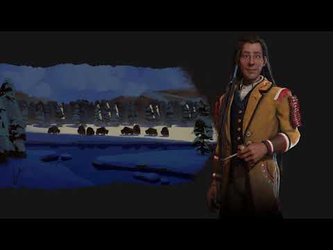 Cree Theme - Industrial (Civilization 6 OST)   The Drums Of Poundmaker