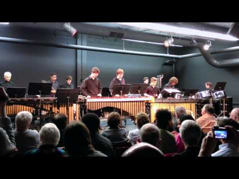 RADIOHEAD - Kid A (Performed By The Toledo School For The Arts Percussion Ensemble)