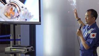 宇宙博2014で開催された、JAXA宇宙飛行士 野口 聡一さんのトークショーです。