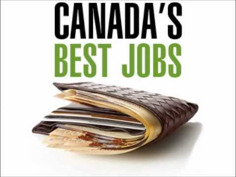 Top 25 Professions in Canada as reported by the Toronto Star