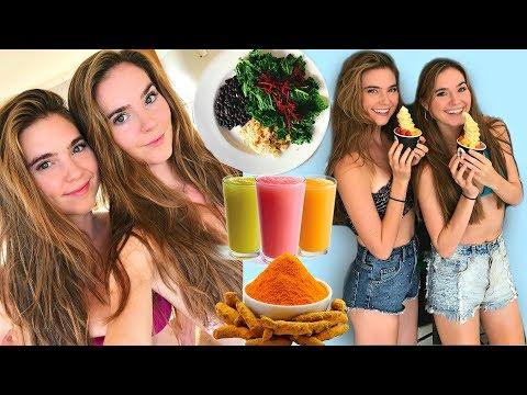 Healthy Vegan Life Hacks + Epic Hawaii VLOG - NinaAndRanda