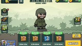 Playing game mini militia gareeb ka pubg let's see what happened