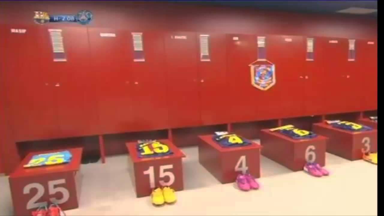 Camp Nou Changing Room