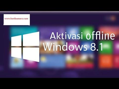 Cara Aktivasi Windows 8.1   1 Jam, Bahasa indonesia Full ( Tutorial Komputer )