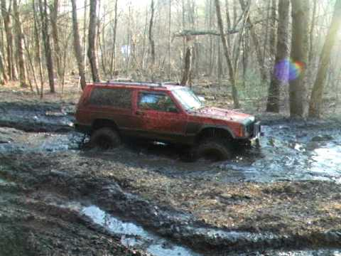 Jeep Grand Wagoneer >> 97 Jeep Cherokee 33 Inch Boggers Mud Hole - YouTube